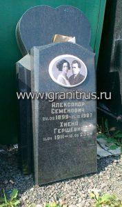 изготовление стандартных памятников на могилу