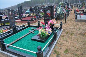аксессуары и украшения на могилу