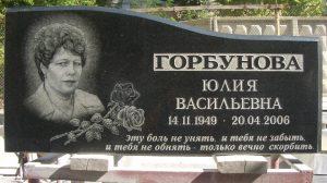 как ухаживать за надписями на надгробии