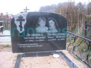 гравировка портретов на надгробии