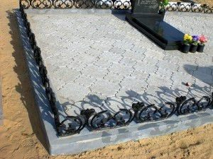 тротуарная плитка благоустройство могил гранитрус