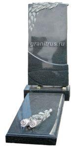 памятник с надгробной плитой