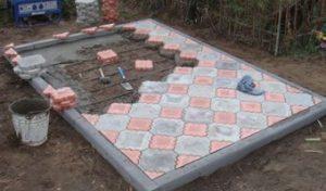 плитка на могилу гранитрус